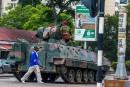 L'armée prend le contrôle du Zimbabwe