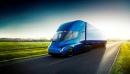 Le camion-remorque tout électrique Tesla Semi, présenté par Elon Musk... | 17 novembre 2017