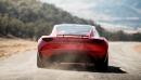 Le Roadster 2, tel que représenté dans cette photo générée... | 17 novembre 2017