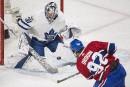 Maple Leafs 6 - Canadien0(score final)