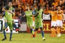 Les Sounders gagnent la première manche face au Dynamo en finale de l'Ouest