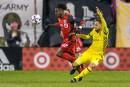 Le Toronto FC et le Crew font match nul0-0 dans la première manche