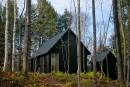 Un refuge dans la forêt