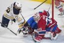 Sabres 0 - Canadien 3 (score final)
