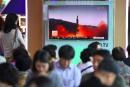La Corée du Nord tire un missile, Trump promet de «s'en occuper»