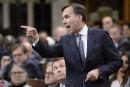 Le Parti conservateur réclame la démission du ministre Bill Morneau
