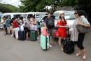 Des milliers de touristes quittent Bali