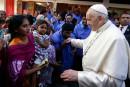 Le pape François dit avoir «pleuré» en rencontrant les Rohingyas<strong></strong>