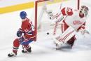 Red Wings 1 Canadien 10 (score final)
