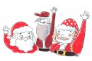 Un conte de Noël raconté de jour en jour, de maison en maison