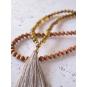 COLLIER MALAD'inspiration bouddhiste, ce collier Mala est un accessoire parfait... | 6 décembre 2017