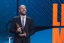 Martin Matte a remporté l'Olivier de la comédie télé de... | 10 décembre 2017