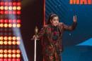 Mariana Mazza a été sacrée humoriste de l'année au gala... | 10 décembre 2017