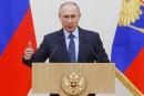Poutine ordonne le retrait de la majeure partie des forces russes en Syrie