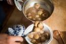 Ragoût deboulettes etpattes de porc