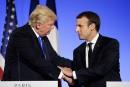 Climat: Macron interpelle Trump sur sa «responsabilité face à l'Histoire»
