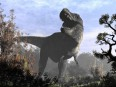 Un tyrannosaure. Selon les paléontologues, un gros mâle fâché pesait... | 13 décembre 2017