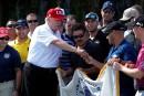 Légère hausse de popularité post-vacances pour Trump