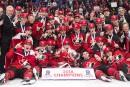 Mondial Junior: le Canada remporte l'or face à la Suède