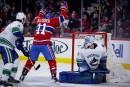 Le Canadien défait les Canucks 5-2 avant les vacances