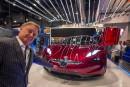 Henrik Fisker, fondateur et PDG de Fisker Inc., montre la... | 10 janvier 2018