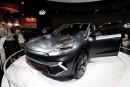 Le prototyple Kia Niro EV montré au Consumer Electronics Show... | 10 janvier 2018