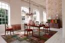 Rouge «caliente»:Les chaises Architecte, de la collection Nouveaux Classiques chez... | 11 janvier 2018