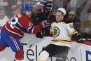 Bruins 4 - Canadien 3(tirs de barrage)