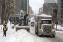 Quatrième opération de chargement de la neige à Montréal