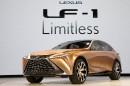 Le Lexus LF-1 Limitless, un prototype. ... | 15 janvier 2018