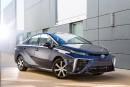 La Toyota Mirai à hydrogène sera lancée au Québec