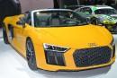 Audi au Salon de l'auto : R8 V10 Spyder Plus, A5, S5 et RS5, sous le signe de la performance