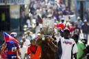 Haïti: les manifestants anti-Trump réclament le départ de leur président