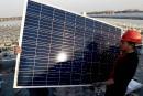 Washington impose des taxes sur les panneaux solaires chinois