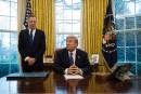 ALENA: les négociations avancent «plutôt bien», selon Trump