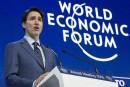 Justin Trudeau convainc une foule gagnée d'avance à Davos