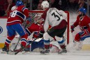 Avalanche 2 - Canadien 4 (pointage final)