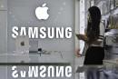 Téléphones intelligents: Apple détrône Samsung au quatrième trimestre