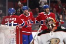 Le Canadien livre une solide performance face aux Ducks