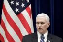 Corée du Nord: Washington sévira comme jamais, dit Pence