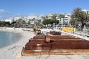 Cannes recrée sa plage