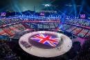 Le drapeau de la Grande-Bretagne apparaît au sol alors que... | 9 février 2018