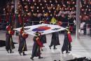 Le drapeau de la Corée du Sud.... | 9 février 2018