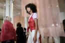 La Hongroise Nanushka débarque à la Fashion Week