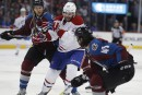 Canadien 0 - Avalanche 2: pointage final<sup></sup>