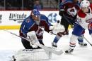 Varlamov se dresse, l'Avalanche bat le Canadien 2-0