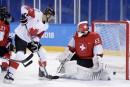 Hockey masculin: le Canada dispose de la Suisse 5-1