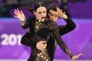 Tessa Virtue et Scott Moir en mettent plein la vue en danse