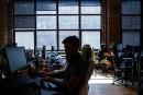 Le nombre d'entreprises en forte baisse au Québec