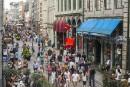 Le nombre de touristes internationaux a atteint un record en 2017 au Canada